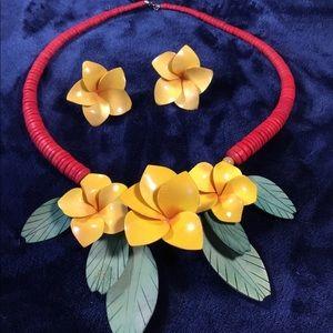 Vintage Hawaiian Necklace Set
